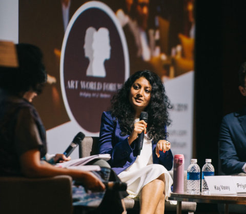 Art World Forum-Singapore-2018-Priya Mudgal art world forum - AWF Sing 2018 480x417 - International Platform for Collectors and Art Business Professionals