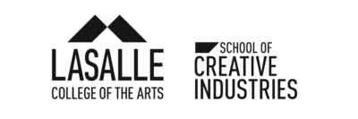 Art World Forum-Lasalle-School of Creative Industries partners - Lasalle Logo Sch of Creative Industries 07 400x133 - Clients