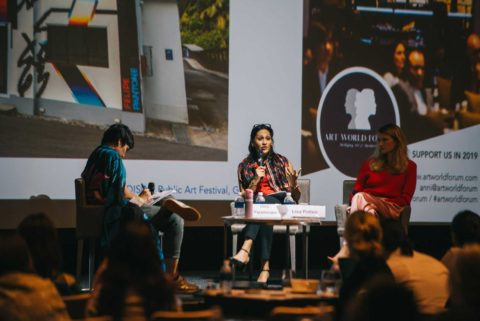 Art-World-Forum-Singapore-2018-Lisa Polten, Kay Vasey, Uma Parameswer art world forum - AWF sing 2018 lisa polten 480x321 - International Platform for Collectors and Art Business Professionals