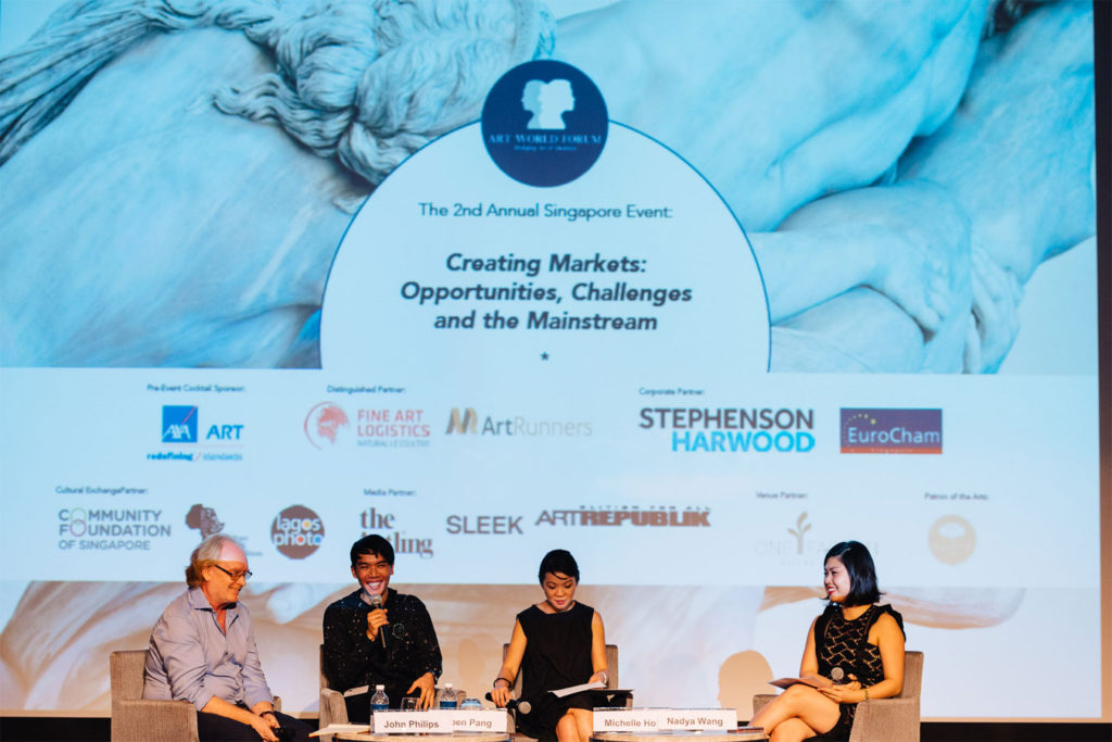 Art-World-Forum_Singapore-2017-Ruben Pang conversation - AIP Event Art World Forum Singapore 2017 Web 604 1024x683 - Art World Tales & Trust