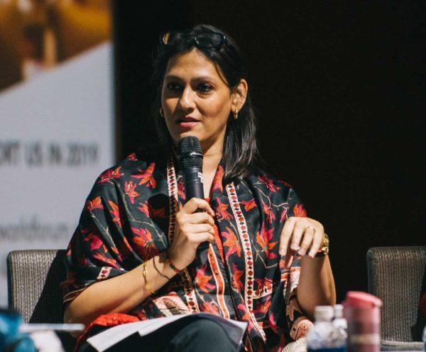 Art World Forum Singapore 2018-Uma Parameswar  - AWF Sing Uma 600x495 - Blog