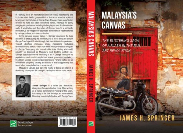 Art-World-Forum-James-Springer-George-Town-Malaysia-Canvas art world forum - Art World Forum James Springer George Town Malaysia Canvas 600x438 - International Platform for Collectors and Art Business Professionals